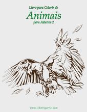 Livro para Colorir de Animais para Adultos 2