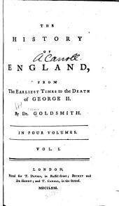 The history of England: from the earliest times to the death of George II.