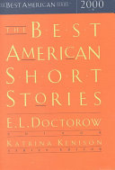 Download The Best American Short Stories 2000 Book