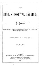 The Dublin Hospital Gazette PDF