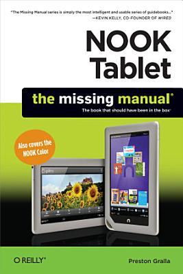 NOOK Tablet  The Missing Manual PDF