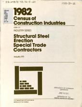 1982 Census of Construction Industries: Industry series. 28 pts: Volume 1, Part 2; Volume 1, Parts 4-9; Volume 2, Part 1; Volume 2, Parts 3-8; Volume 2, Parts 10-27; Volume 3