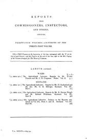 Parliamentary Papers: Volume 36