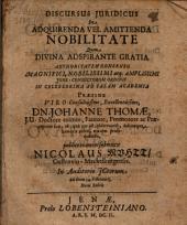 Discursus iur. de acquirenda vel amittenda nobilitate