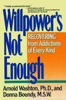 Willpower Is Not Enough PDF