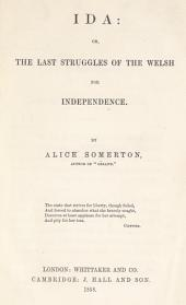 Ida, Or, The Last Struggles of the Welsh for Independence