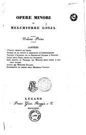Opere minori,... di Melchiorre Gioja