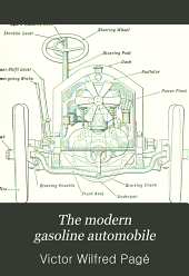 The modern gasoline automobile: its design, construction, maintenance and repair; a practical, comprehensive treatise explaining all principles pertaining to gasoline automobiles and their component parts ...