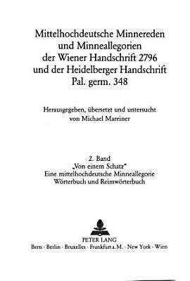 Von einem Schatz   W  rterbuch und Reimw  rterbuch PDF