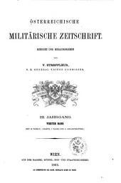Streffleurs militärische Zeitschrift: Bände 3-4