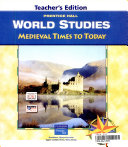 World Studies  Medieval Times to Today PDF