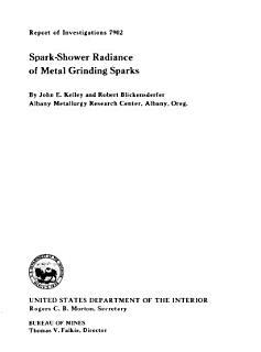 Spark shower Radiance of Metal Grinding Sparks Book