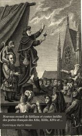Nouveau recueil de fabliaux et contes inédits des poètes français des XIIe, XIIIe, XIVe et XVe siècles: Volume1