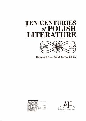 Ten Centuries of Polish Literature PDF