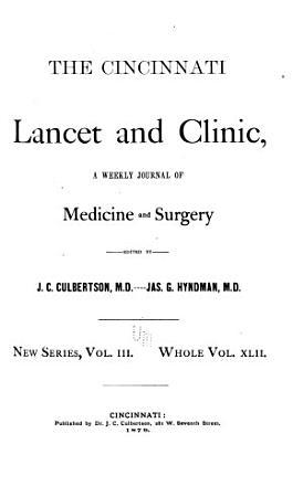 Cincinnati Lancet and Clinic PDF