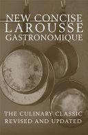 Concise Larousse Gastronomique Book