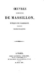 Oeuvres complètes: Panégyriques, Volume9