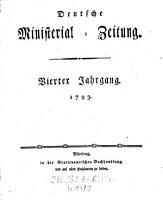 Deutsche Ministerial Zeitung PDF