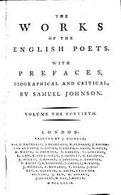 The Works of the English Poets: Swift