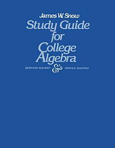 Study Guide for College Algebra