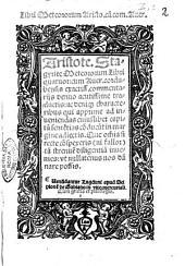 Libri Meteororum Aristo. cum com. Auer. Aristote. Stagyrite Meteororum libri quatuor: cum Auer. cordubensis exactiss. commentarijs denuo acutissime traductis: ..