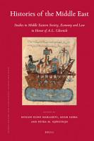 Histories of the Middle East PDF