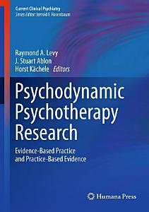 Psychodynamic Psychotherapy Research