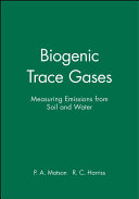 Biogenic Trace Gases