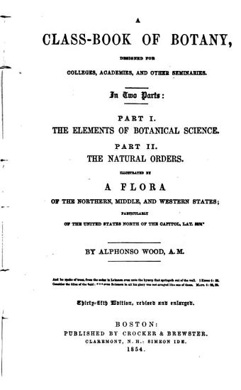 A Class book of Botany PDF