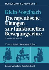 Therapeutische Übungen zur funktionellen Bewegungslehre: Analysen und Rezepte, Ausgabe 2