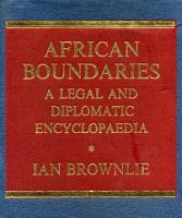 African Boundaries PDF