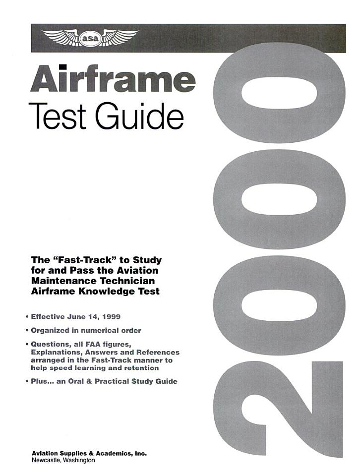 Fast-Track Test Guides for Aviation Maintenance