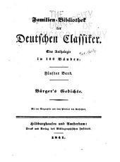Familien-bibliothek der deutschen classiker ...