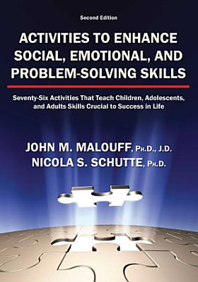 Activities to Enhance Social  Emotional  and Problem solving Skills PDF