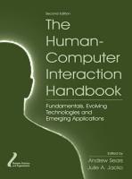 The Human Computer Interaction Handbook PDF