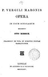 P. Vergili Maronis opera recogn. O. Ribbeck