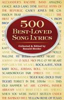500 Best Loved Song Lyrics PDF