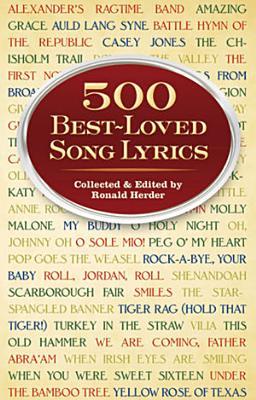 500 Best Loved Song Lyrics
