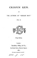 Crispin Ken  by the author of  Miriam May   PDF