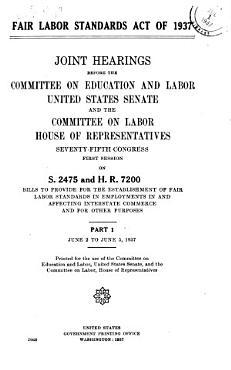 Fair Labor Standards Act of 1937 PDF