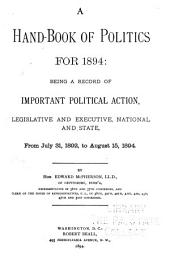 A Hand-book of Politics for ...