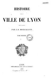 Histoire de La Ville de Lyon (1)