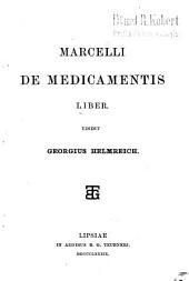 De medicamentis liber