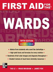 First Aid for the Wards  Fifth Edition Book