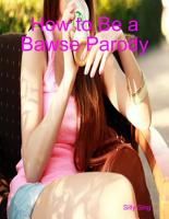 How to Be a Bawse Parody PDF