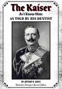 The Kaiser As I Know Him PDF