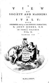 A View of Society and Manners in Italy: Volume 2