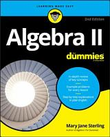 Algebra II For Dummies PDF