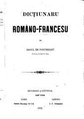 Dicțiunaru Româno-Francesu