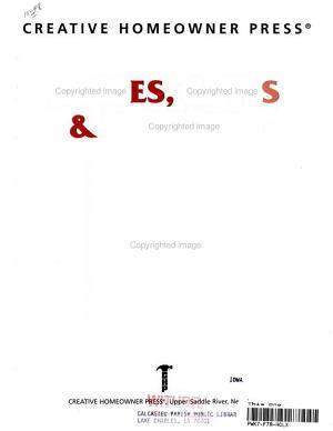 Fences  Gates   Trellises PDF